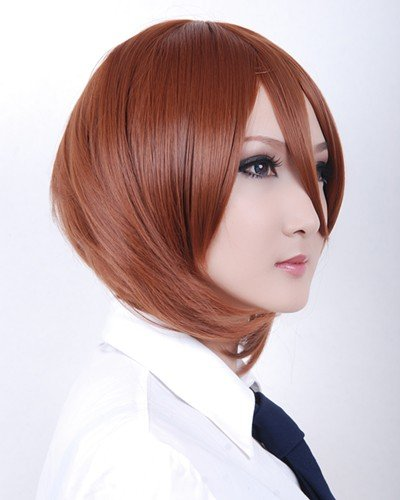 Newest 30CM Ladies' MSN Cosplay wigs - Anime wig Lace Front Wig for Cosplay party Hot Selling