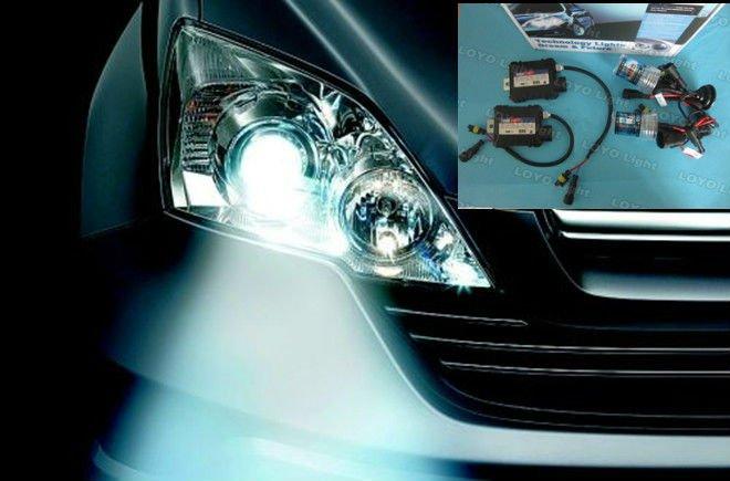 hot sale!!!! H1, H4, H7, H8, H11, 9005, 9006,9004, 9007, H13,slim ballast,$10.5/set car headlight