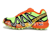 Мужские кроссовки Salomon men running shoes 2013 NEW good quality outdoor shoes fashion sport air walking shoes