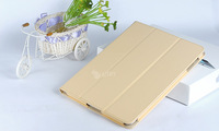 Magnetic Smart cover PU Leather case Stand Protection Skin Sleeve Soft Sleep Wakeup holster For iPad 2 3 with 10 colors
