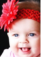 50pcs/lot Crochet  Head Bands, baby Headbands , baby hair accessories and children&kids Headbands