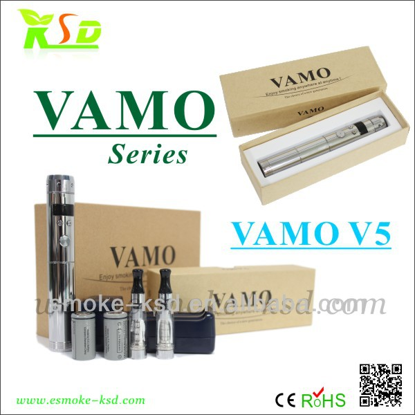 2014 new coming vaporizer original VV VW mod ksd electronic cigarette Vamo V5