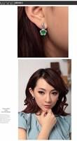 Серьги-гвоздики Christmas gift! price crystal stud earrings#89725
