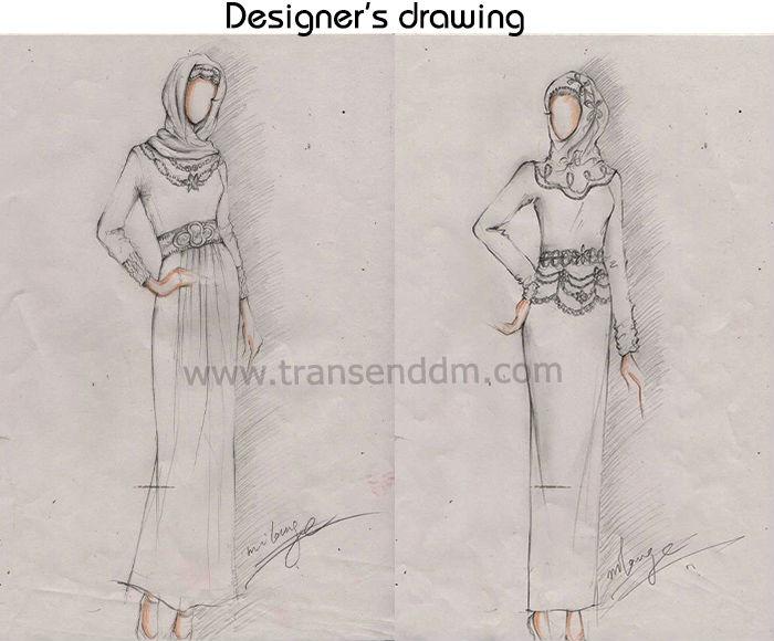 Abaya gamis dress jilbab hijab