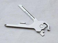 Free shipping 40pcs /lot Outdoor Equipment Multi-function Tools, Swiss Tech Utili-Key 6-in-1 Versatile Key Ring Companion