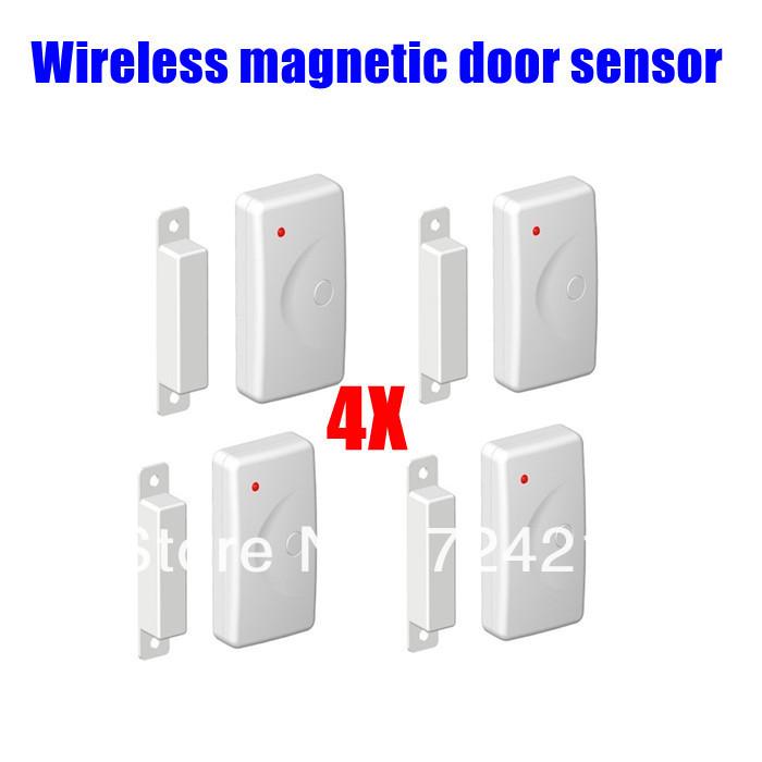 4pcs lot home window door entry burglar security alarm for 120 volt magnetic door switch