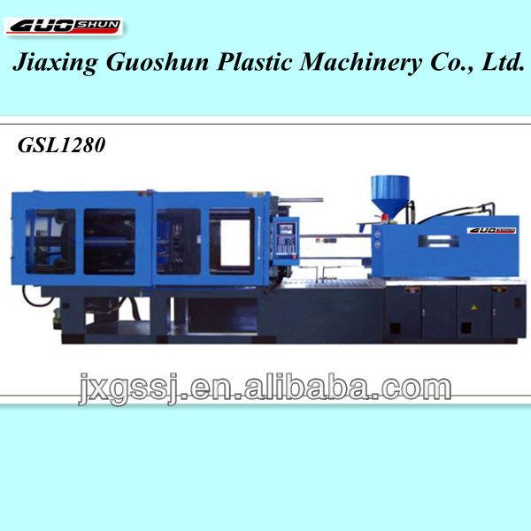 Energy-saving small Plastic injection molding machine GSL1280