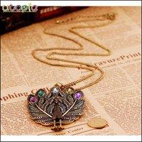 Цепочка с подвеской Fashion Pendant Necklace -Peacock#NR194