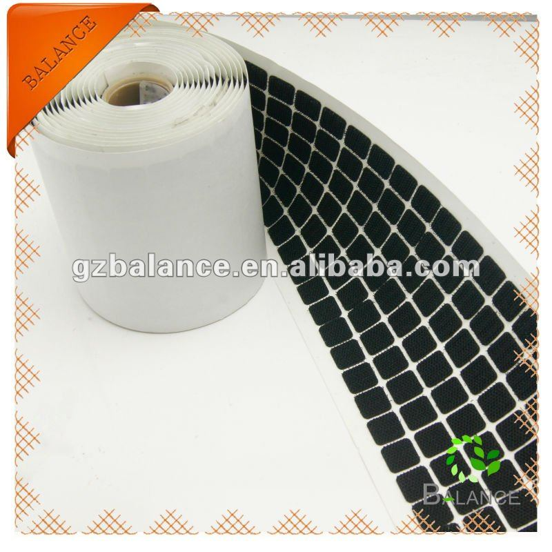 Multi-use super strong die-cutting shape heat resistance nylon adhesive velcro