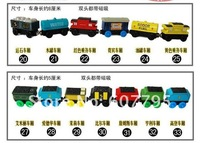 Игрушечная техника и Автомобили 37 styles to select 10 styles Thomas & Friends the tank engine wooden magnet kids toy gift/Thomas the Tank Engine