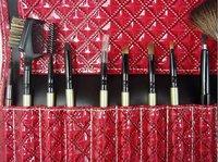 Кисти для макияжа MEGAGA 16PCS Professional Cosmetic Brush Makeup Brushes with Leather Case