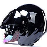 Open face casque, Moitié casque. Casque de moto