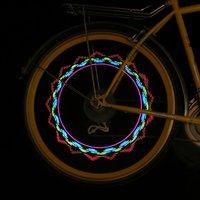 велосипед велосипедов автомобиля мотоцикл 5 led вспышки шины колеса говорил свет лампы аксессуары с розничной упаковке, Бесплатная / дропшиппинг