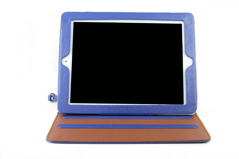 Foldable with stand tablet pc case for ipad 2