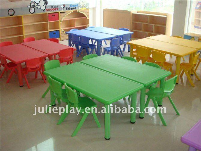 Kids Plastic Table Nursery Tables School Furniture