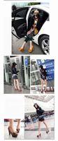Туфли на высоком каблуке Waterproof Taiwan high heels.High-heeled shoes leather shoes.Single shoes.A0414