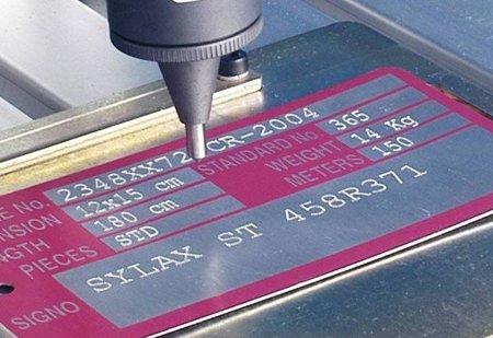 tag etching machine