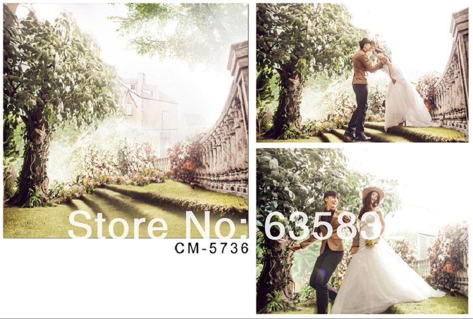 Wedding Backdrop Wallpaper Product Description