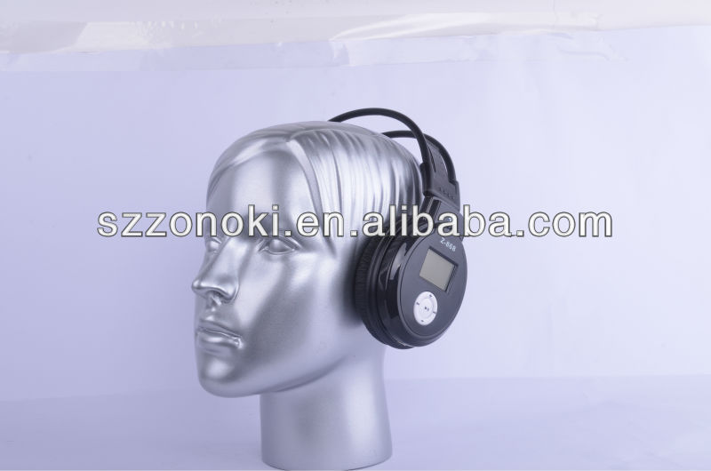 Z-868 SD Card Readset Headset with FM radio
