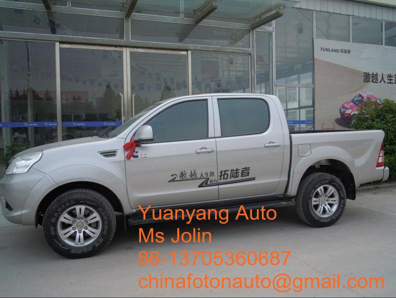 4WD Double cabin Foton Tunland Pickup (diesel & gasoline)