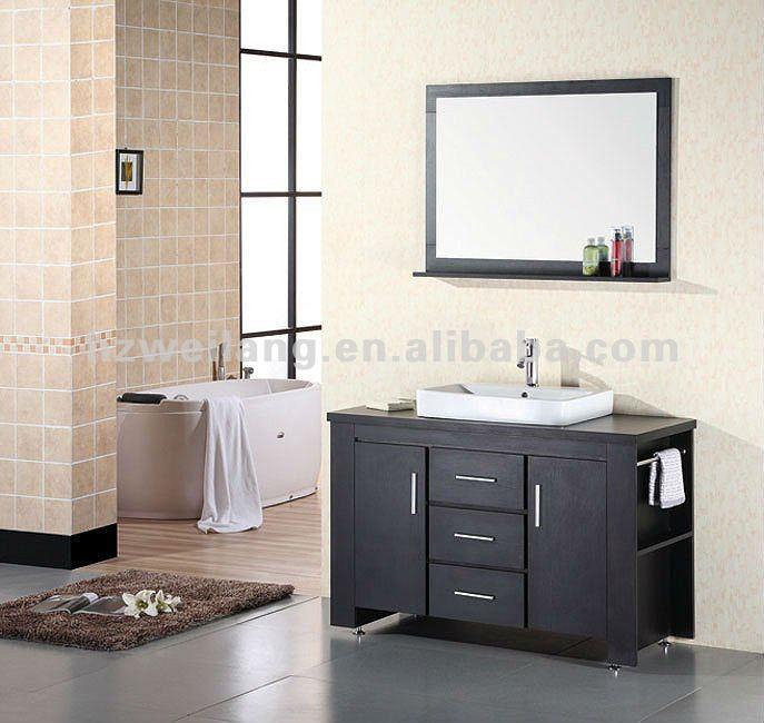 mobile bagno moderno stondato