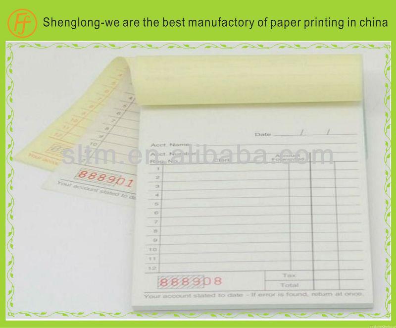invoice book template .