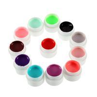 2 набор 36 цвет ногтей искусство блеск УФ гель польский замочить off лаковое покрытие для декорирования лампы