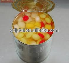 canned assorted fruit hot sale