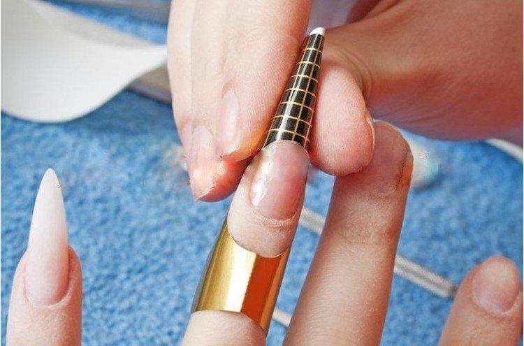Формы для ногтей своими руками