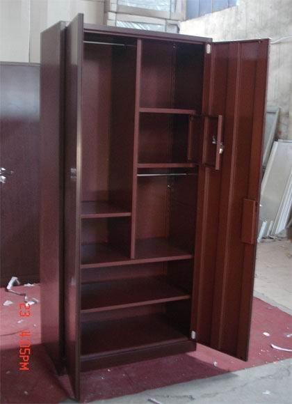 Metal bedroom furniture clothes combination wardrobe