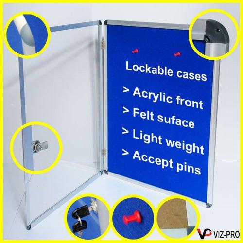 Lockable cases