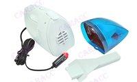 Автомобильный пылесос 60W Mini 12V High-Power Portable Handheld Car Vacuum Cleaner Blue+White Color 1618