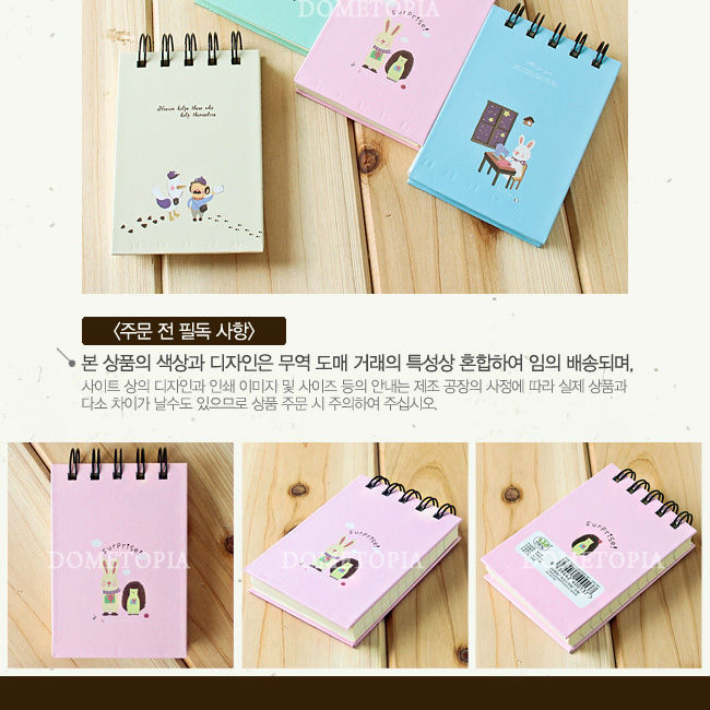 Korea portable cute mini diary OEM China - GTS2320