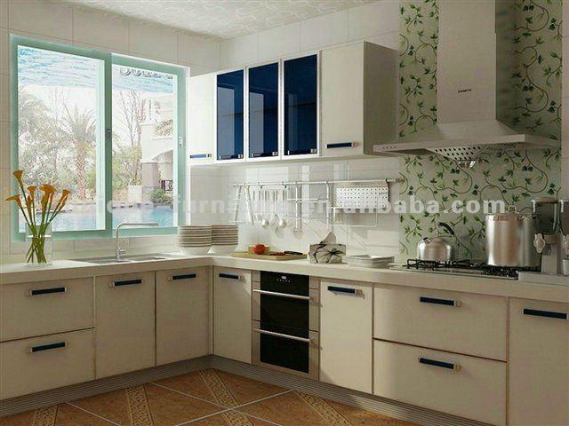 Montagem na parede da cozinha móveis