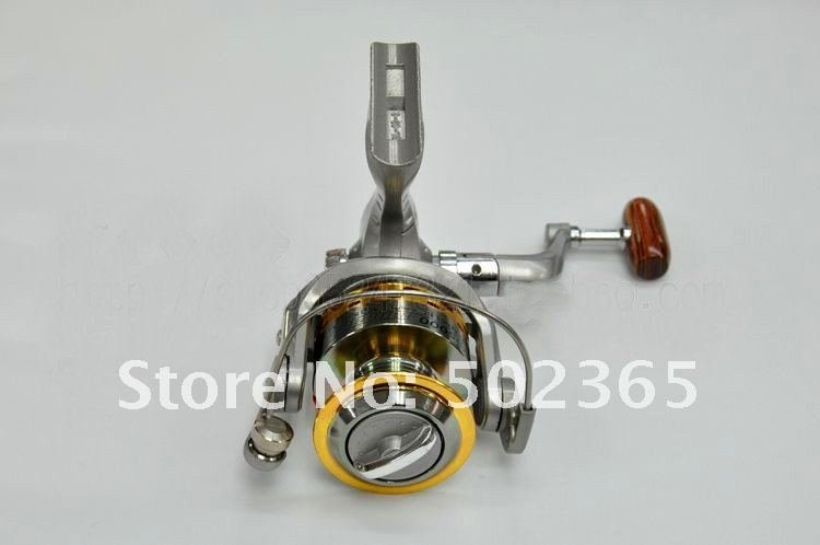 Wholesale fishing reels SG - 5000A fish round metal 6 Ball bearing spinning reel 5.1:1  fishing tackle 1PCS free shipping