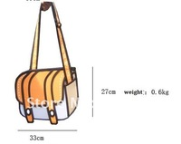 Маленькая сумочка Retail product 2012 Magic 2D BAG JUMP FROM PAPER shoulder handbags women bags