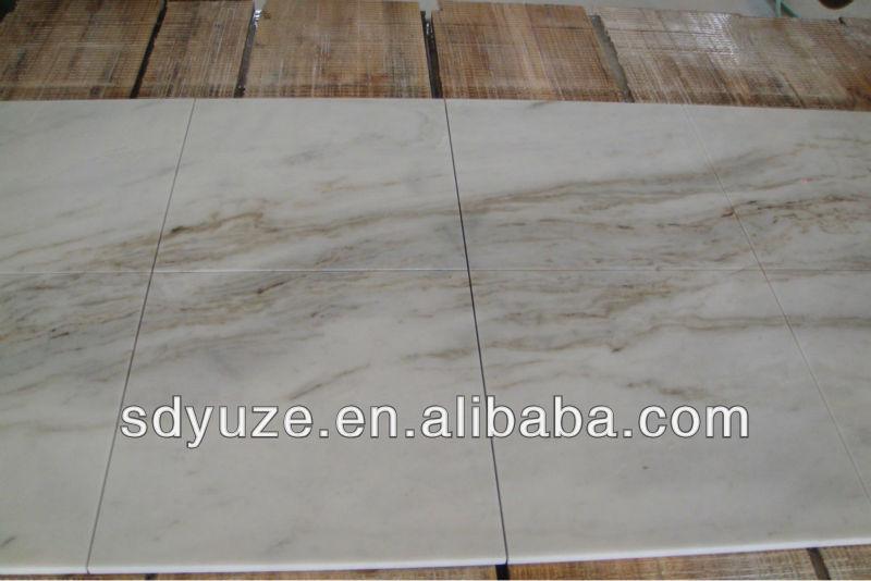 Big marble slab -white landscape painting marble