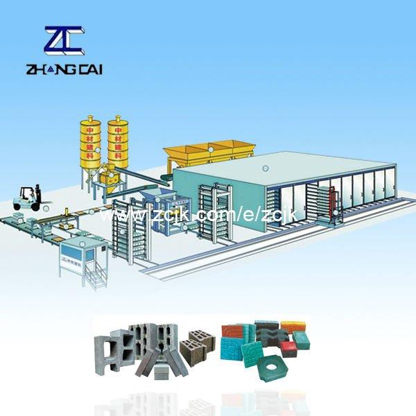 QTY9-18 automatic small mobile block making machine