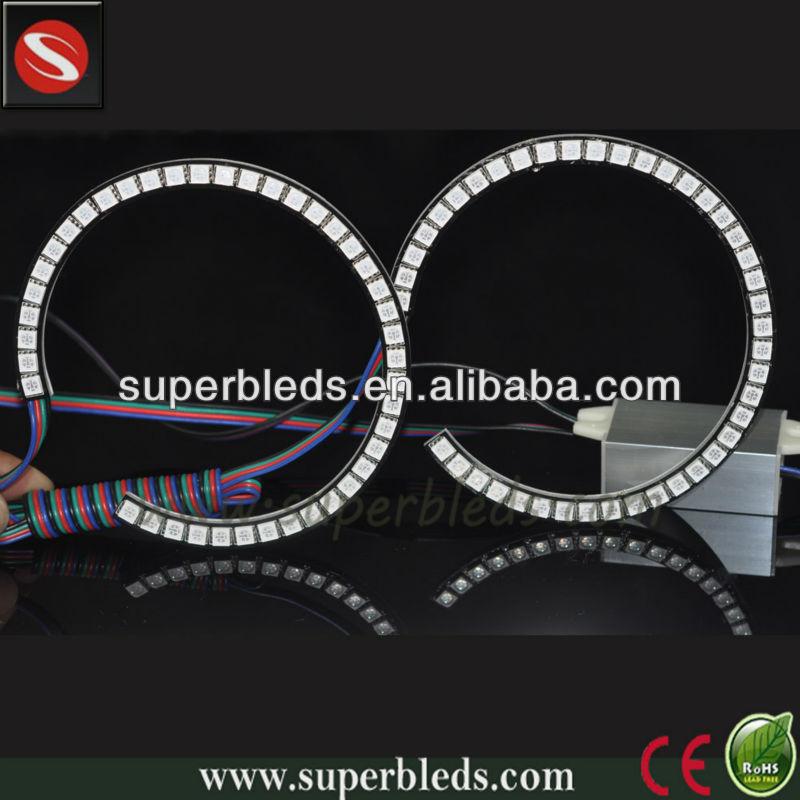 Popular RGB halo rings led angel eyes for auto headlight