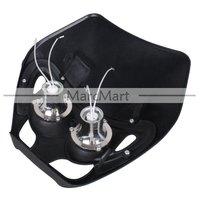 12V/35W Streetfighter Universal Black Motorcycle Headlight Fairing#ST121