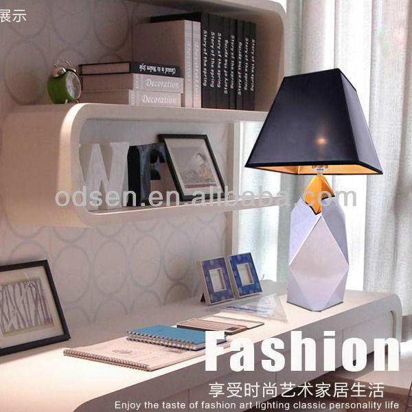 Diseño de moda pintado a mano chino lámparas de mesa de cristal ...