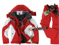 Free shipping Skiing clothing Ski suit set Women 6Colors