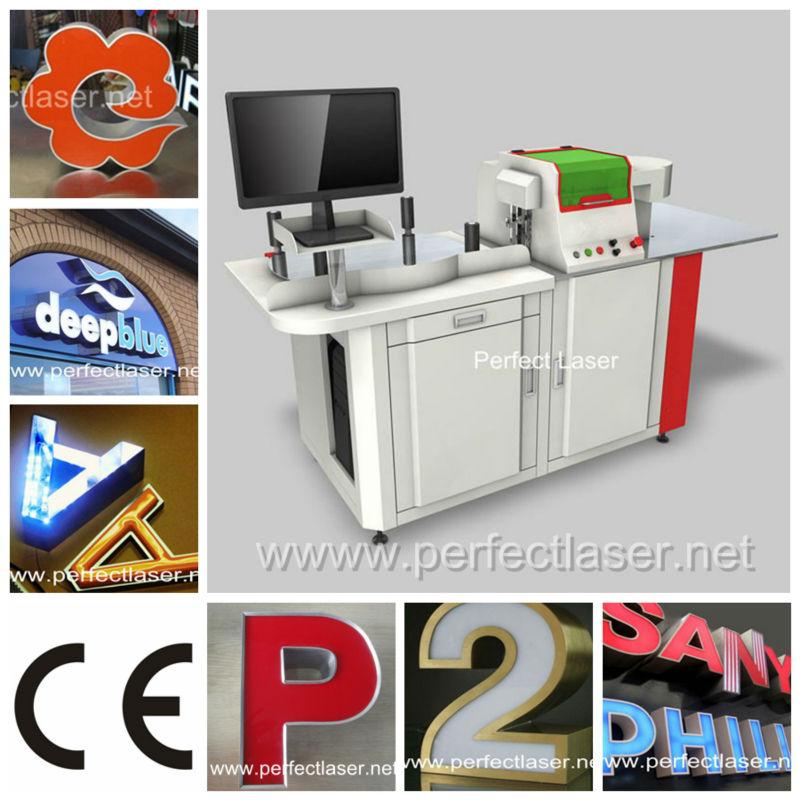 Mobile Advertising Van Channel Letter Bending Machine