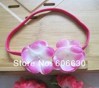 Детский аксессуар для волос Flower Headbands Elastic head bands Babys Hairbands 12pcs/lot