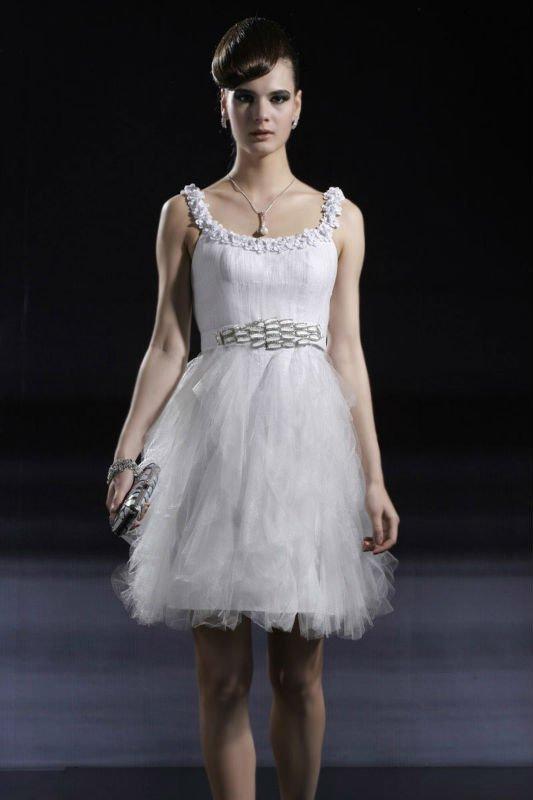 Fotos de vestidos de Confirmación cortos - Imagui
