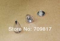 Клепки для одежды 100pcs Mix 5 Colors 10mm Bullet Screwback Spikes Punk Leathercraft Accessories DIY Rivet studs GZ025-10Mix+B4 CP