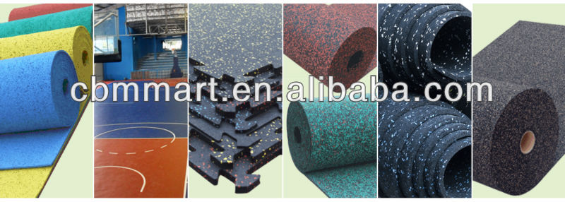 Rubber flooring promotion