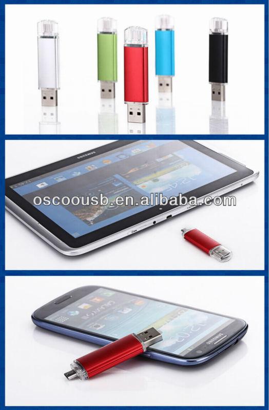 High quality otg usb flash drive, usb flash memory otg on hot selling ,usb 3.0