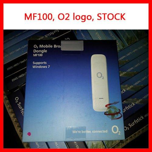 Открынный brandnew шток логоса O2его ZTE MF100. новый zte mf100 флэшку.