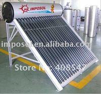 150L low pressure colourful steel solar water heater